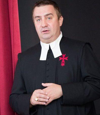 farář P. Mgr. Martin Pastrňák, O.Cr.